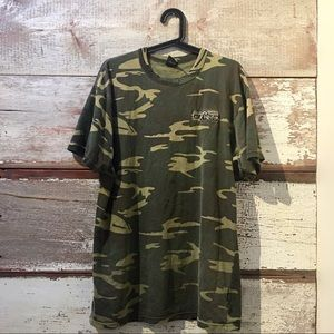 Vintage // camouflage t-shirt